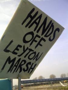 Hands off Leyton Marsh